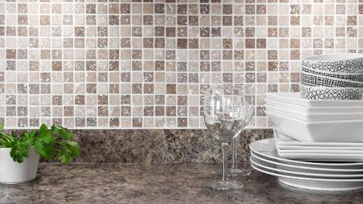 Apart from making your kitchen look stunning and sophisticated, kitchen backsplash is a practical solution to keeping your kitchen very organized.