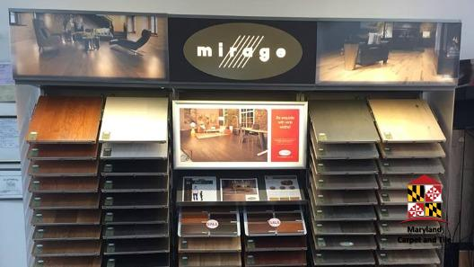 Check out some flooring samples from Mirage, one of our most trusted vendors