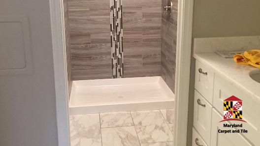 Further look at simple clean bathroom